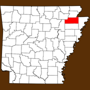 Craighead County - Statewide Map