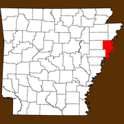 Crittenden County - Statewide Map