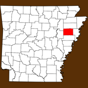Cross County - Statewide Map