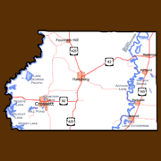 Ashley County Features