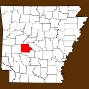 Garland County - Statewide Map