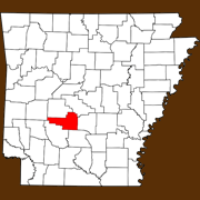 Hot Spring County - Statewide Map