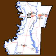 Lafayette County Features