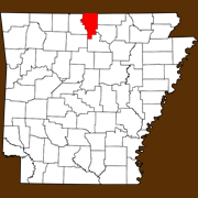 Baxter County - Statewide Map