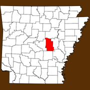 Lonoke County - Statewide Map