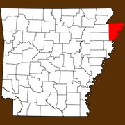 Mississippi County - Statewide Map