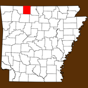Boone County - Statewide Map