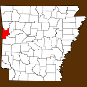 Sebastian County - Statewide Map