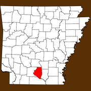 Calhoun County - Statewide Map