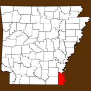 Chicot County - Statewide Map