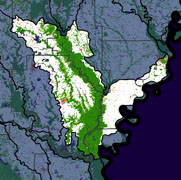 Watershed Land Use Map - Lower White