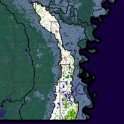 Watershed Land Use Map - Boeuf