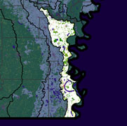 Watershed Land Use Map - Bayou Macon