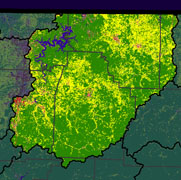 Watershed Land Use Map - Upper White (Beaver)