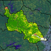 Watershed Land Use Map - Middle White