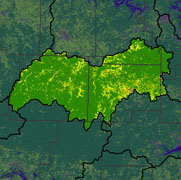 Watershed Land Use Map - Buffalo