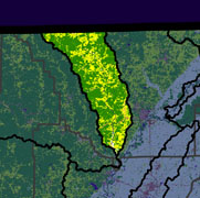Watershed Land Use Map - Eleven Point