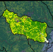 Watershed Land Use Map - Strawberry