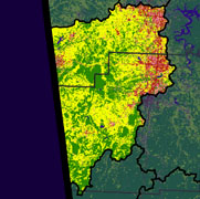 Watershed Land Use Map - Illinois