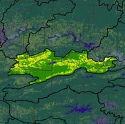 Watershed Land Use Map - Petit Jean
