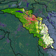 Watershed Land Use Map - Lower Arkansas-Maumelle