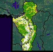 Watershed Land Use Map - McKinney-Posten Bayous