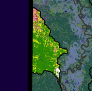 Watershed Land Use Map - Lower Sulphur